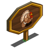 Wild Turkey Mastery Sign-icon
