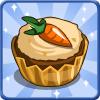 Carrot Cupcake-icon