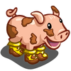 Muddy Boots Pig-icon