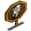 Abominable Calf Mastery Sign-icon