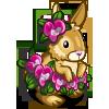 Purple Orchids Rabbit-icon