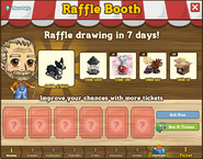 Raffle Booth Draw October 31 2011