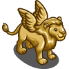 Winged Golden Lion-icon