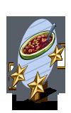 Rhubarb Crumble 3 Star Mastery Sign-icon