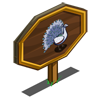 White Peacock Mastery Sign-icon