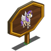 Leaf Pattern Pegacorn Foal Mastery Sign-icon