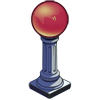 Red Gazing Ball-icon