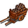 Wine Barrel Cart-icon
