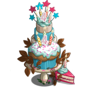 4th Birthday Candle Tree-icon