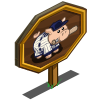 Baseball Pig Mastery Sign-icon