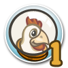 Cluck Rogers Chicken in Space Quest 1-icon