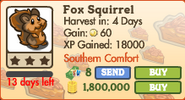 Fox Squirrel Market Info (July 2012)