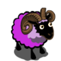 Grayish Violet Purple Ram-icon
