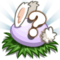 Purple Baby Bunny Eggs Stage 8-icon