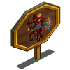 Aerial Repeater Pegasus Foal Mastery Sign-icon
