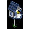 Blue Birdhouse-icon