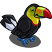 Keel-billed Toucan-icon