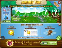 Summer Fun Countdown Notice