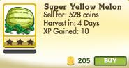 Super Yellow Melon Unlocked