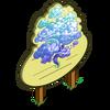 Big Blue Mystic Cloud Tree Mastery Sign-icon
