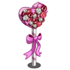 Pink Rose Stand-icon