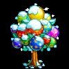 Rainbow Ice Tree-icon