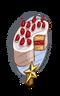 Strawberry Shortcake 1 Star Mastery Sign-icon