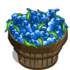 Blue Bean Bushel-icon
