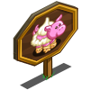 Cherry Pie Pig Mastery Sign-icon