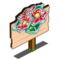 Frosted Poinsettia Mastery Sign-icon