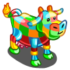 MultiColored Cow-icon