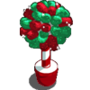Winter gumdrop tree-icon