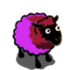 Burgundy Purple Ewe-icon