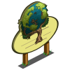 Earth Pattern Tree Mastery Sign-icon