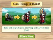 Gas Pump Pop Up Notice