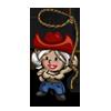 Cowgirl Gnome-icon