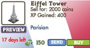 Eiffel Tower Market Info