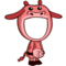 Pink Cow Costume-icon