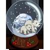 Polar Bear Globe-icon