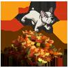 Dog Leaf Pile-icon