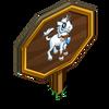 Gothic Unicorn Foal Mastery Sign-icon