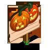 Jack O Lantern (crop) Mastery Sign-icon
