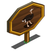 Male Ostrich Mastery Sign-icon