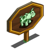 Shamrock Pig Mastery Sign-icon