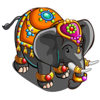 Gem Encrusted Elephant-icon