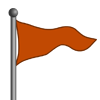 Orange Flag-icon