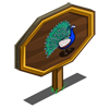 Peacock Mastery Sign-icon