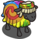Shaggy Tie-Dye Sheep-icon
