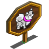 Silver Pomeranian Mastery Sign-icon