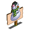 Snow Woman Crop Mastery Sign-icon